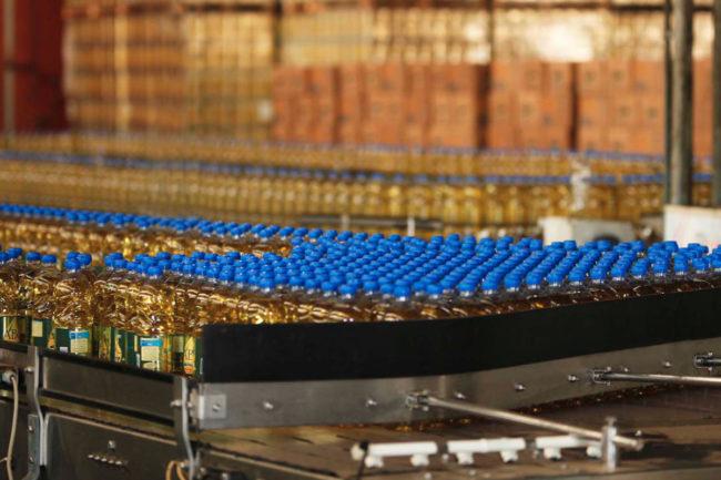 Algar Agro oil bottling facility