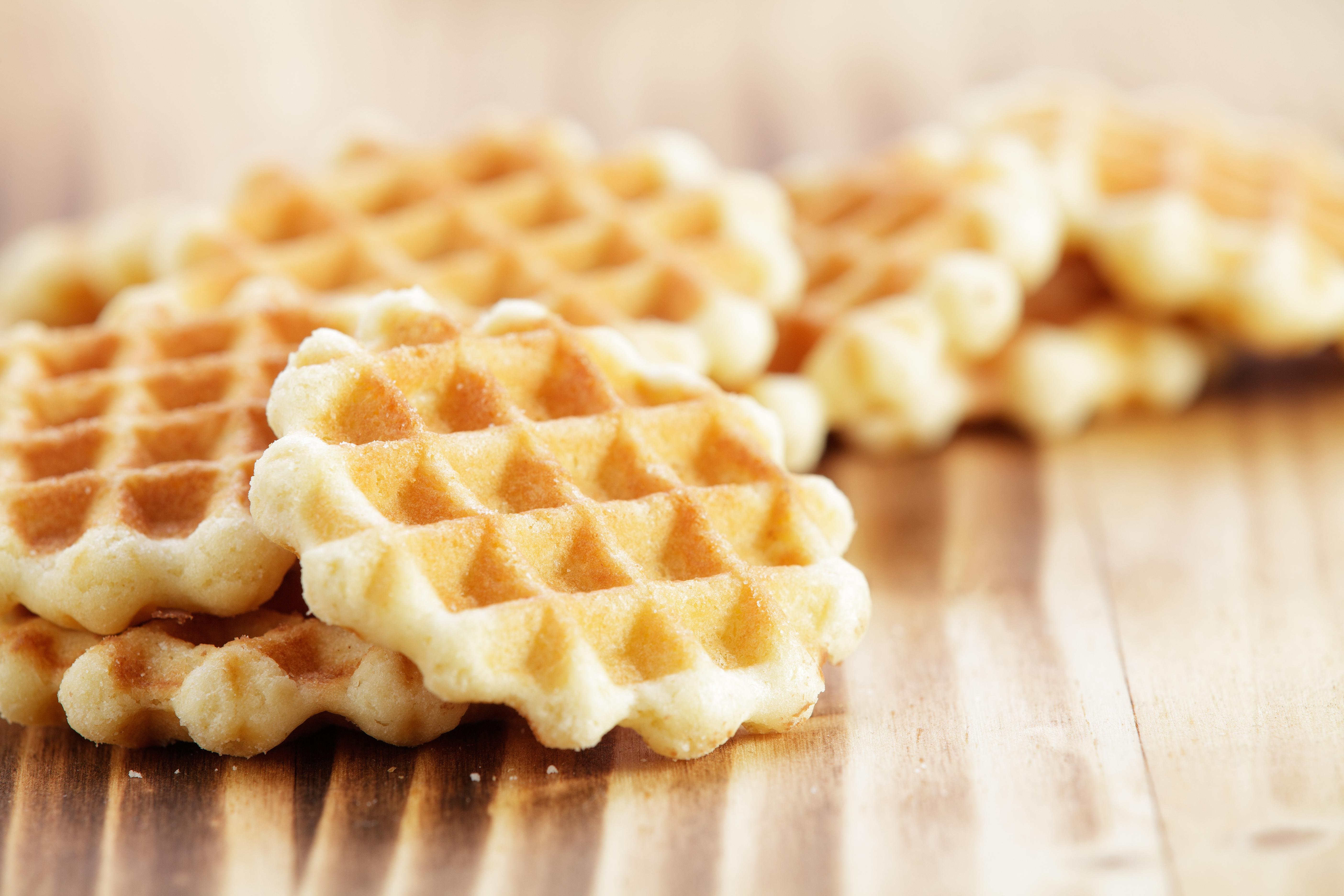 Waffle production