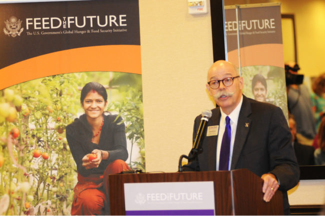 Ernie Minton, the interim dean of the Kansas State University College of Agriculture