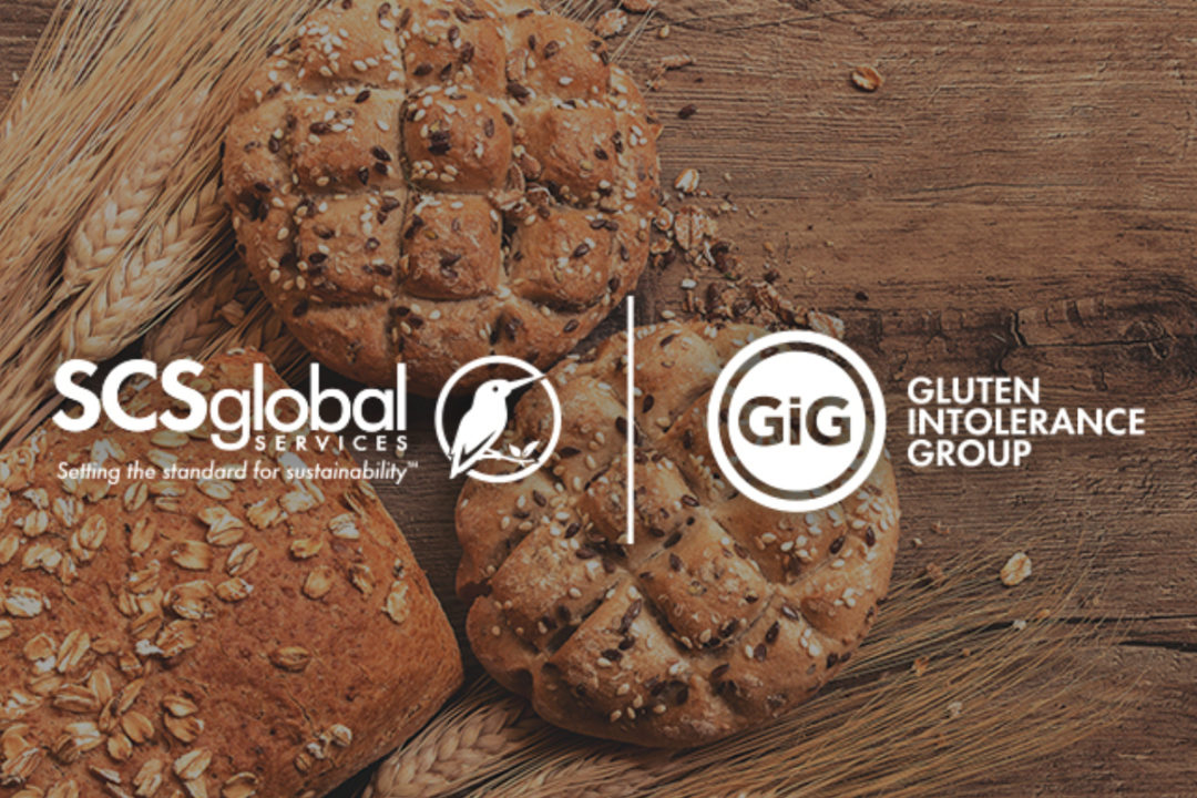 SCS Global Services gluten-free certification