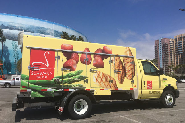 Schwan Delivery Vehicles