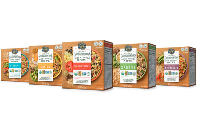 Lundberg Family Farms Organic Grainspiration Rice & Quinoa Bowls