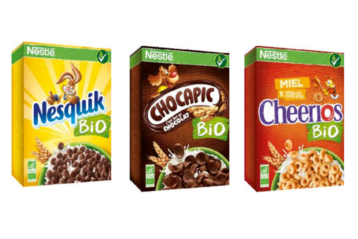 Nestle Cereal Partners Worldwide organic cereal