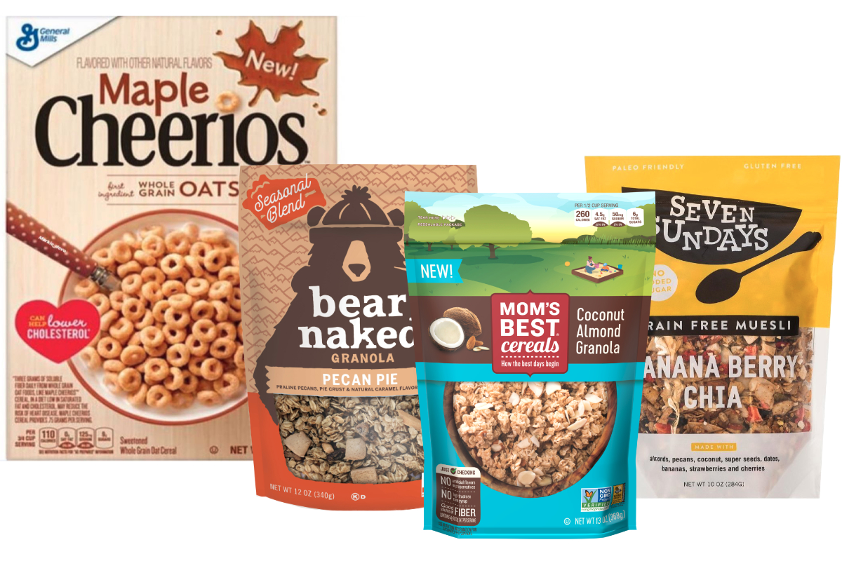 Slideshow: What's new from General Mills, Kellogg, Post