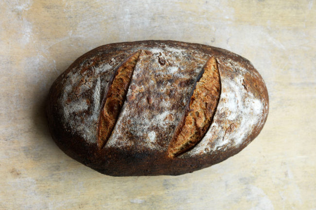 Hewn Heritage Country Batard bread