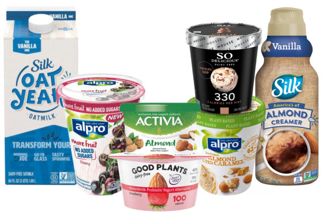 Danone plant-based products