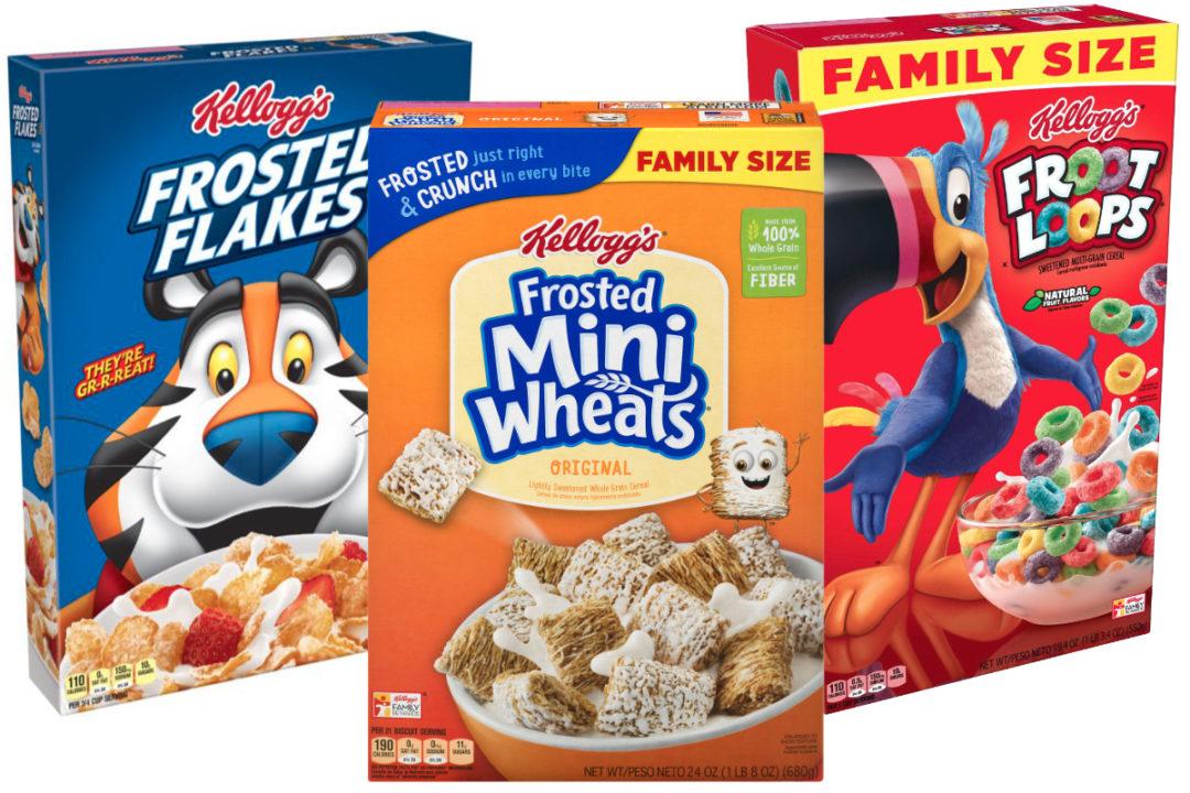Kellogg cereals