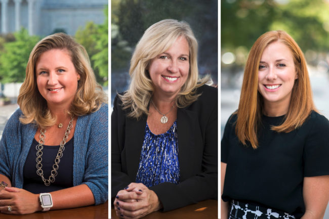 Kelly Knowles, Kelly Kotche and Christina Donnelly, A.B.A.