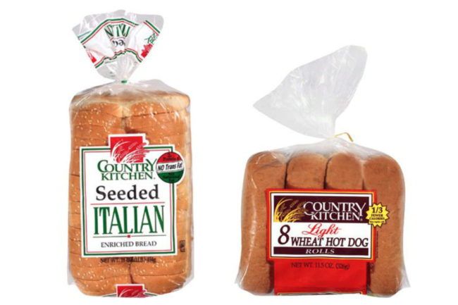 Country Kitchen bread and buns, Flowers Foods