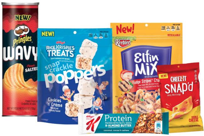 New Kellogg snacks