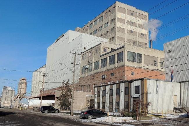 ADM flour mill in Calgary, Alberta