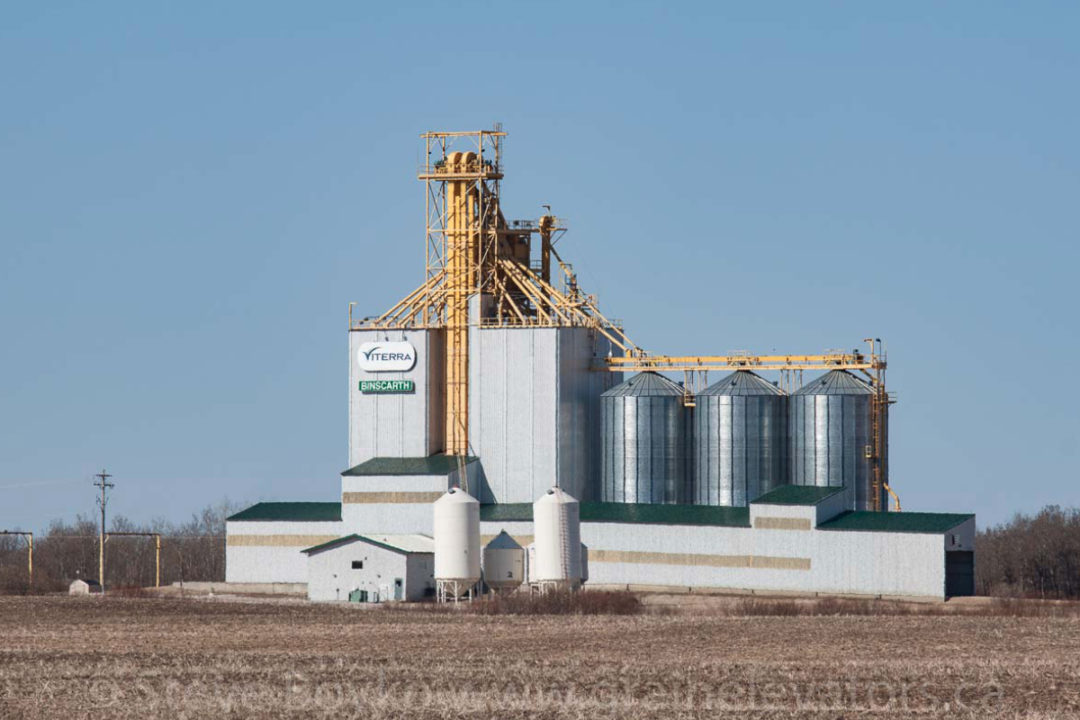 Viterra Binscarth, Manitoba, grain terminal