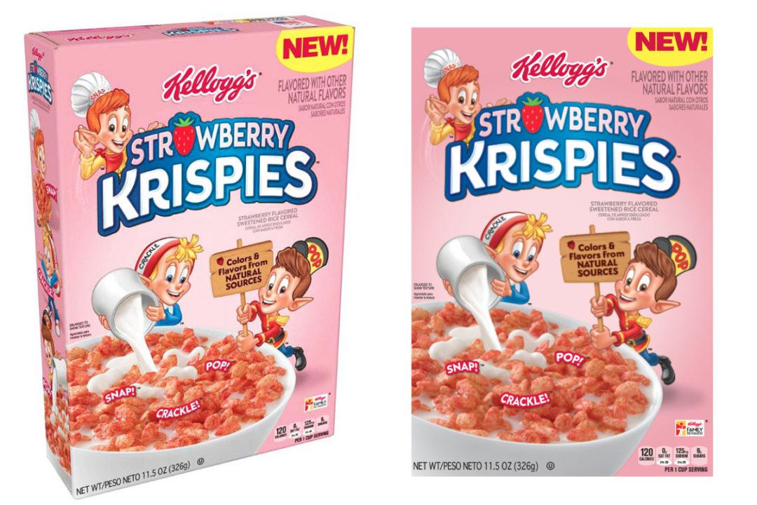 Kellogg's Strawberry Krispies