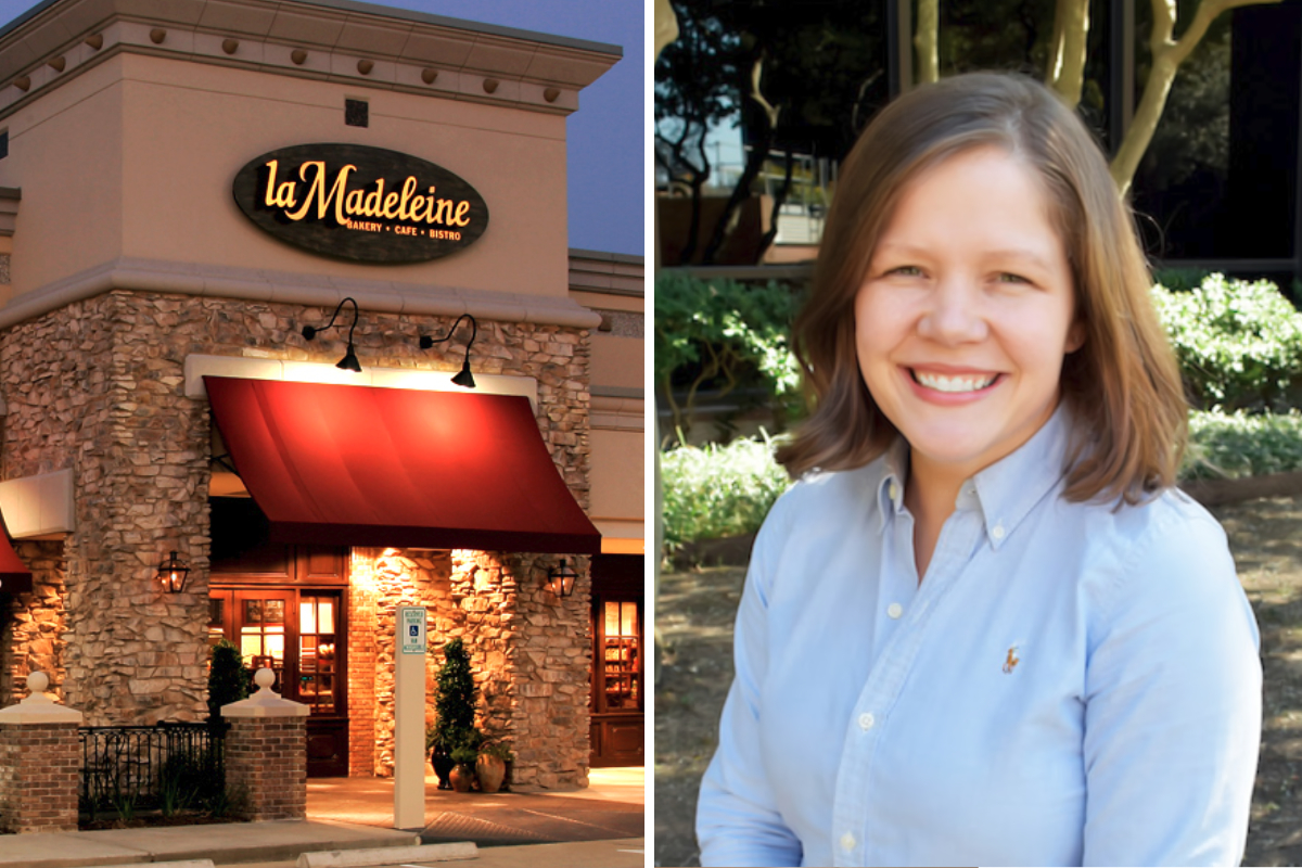 Jacqueline O'Reilly, la Madeleine French Bakery & Cafe