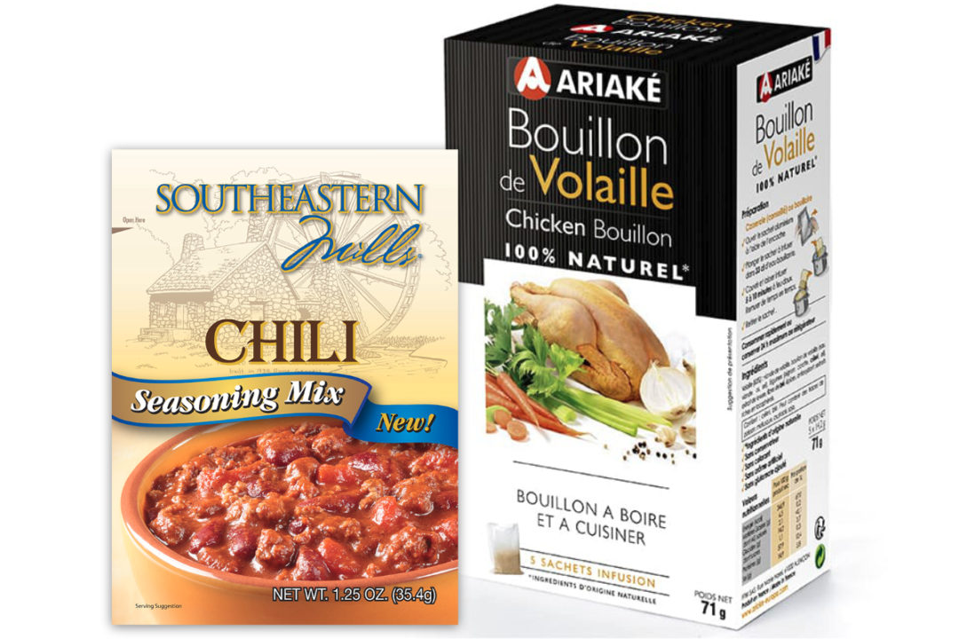 Ariake USA and Southeastern Mills products