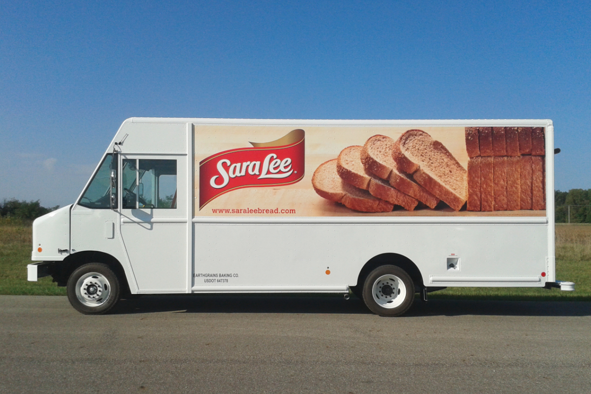 Sara Lee delivery truck