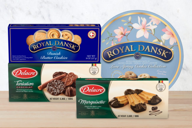 Ferrara Delacre and Royal Dansk cookie innovation