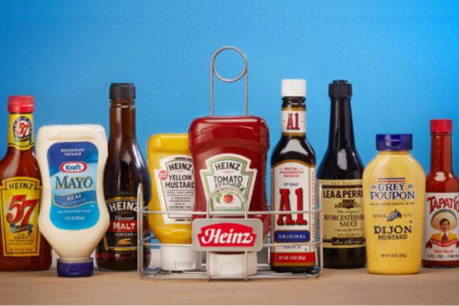 Kraft Heinz condiments