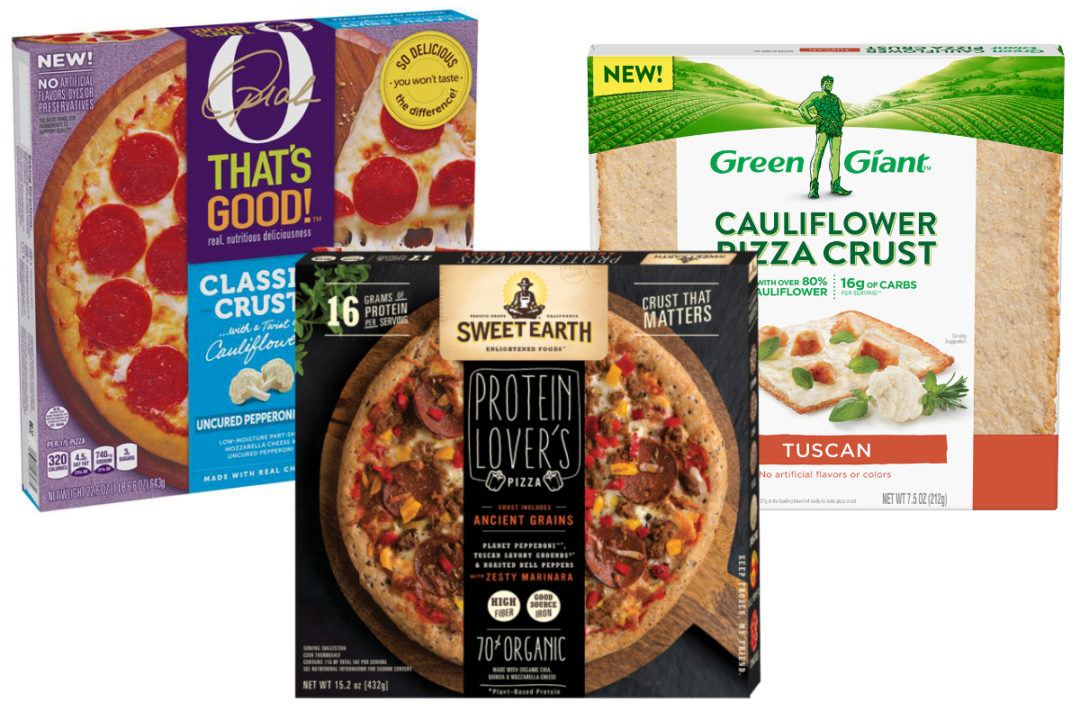New pizza products