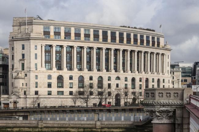 Unilever London headquarters