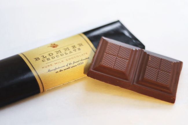 Blommer chocolate bar