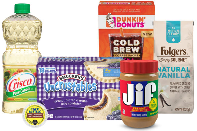J.M. Smucker products