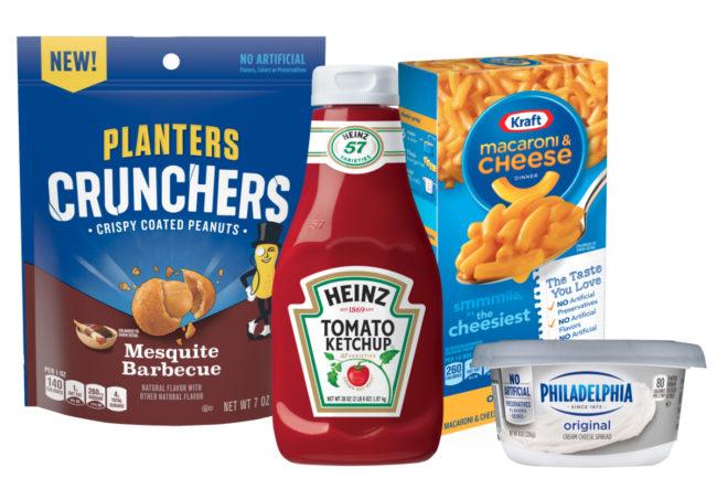 Kraft Heinz product lineup