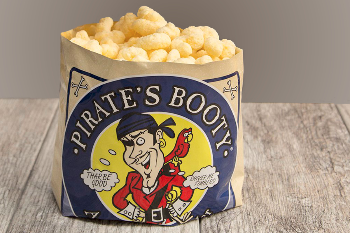Pirates Booty snacks