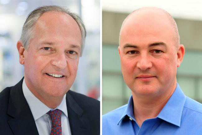 Paul Polman and Alan Jope, Unilever