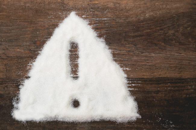Sugar warning