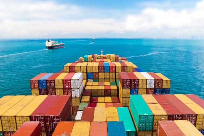 Cargo ship trading