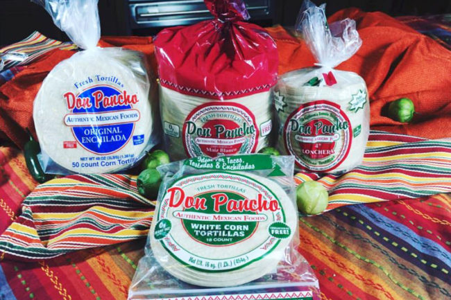 Don Pancho tortillas