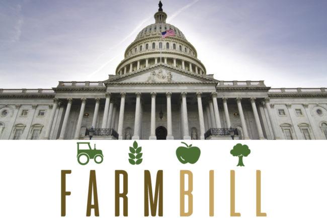 U.S. capitol farm bill