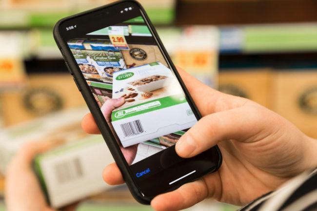 Kroger mobile app barcode scanner