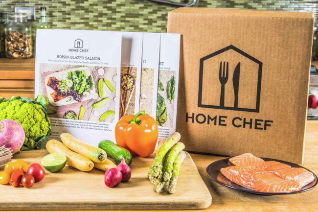 Home Chef meal kit