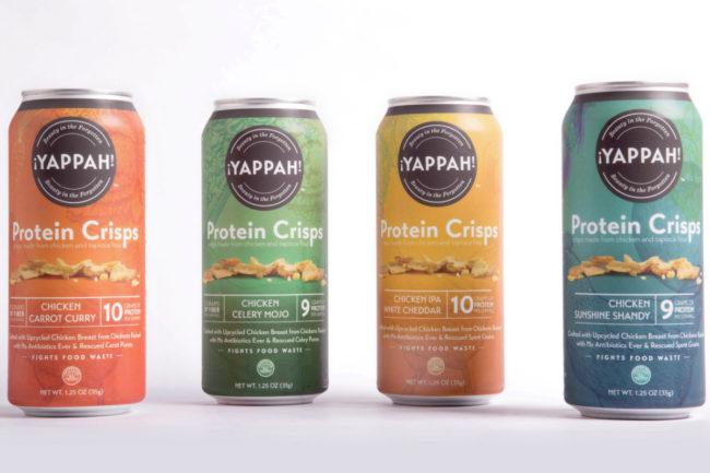 Yappah protein crisps, Tyson