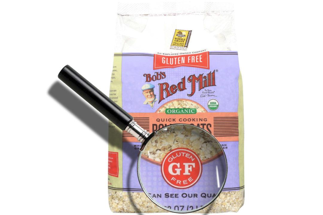 Bob's Red Mill gluten-free symbol