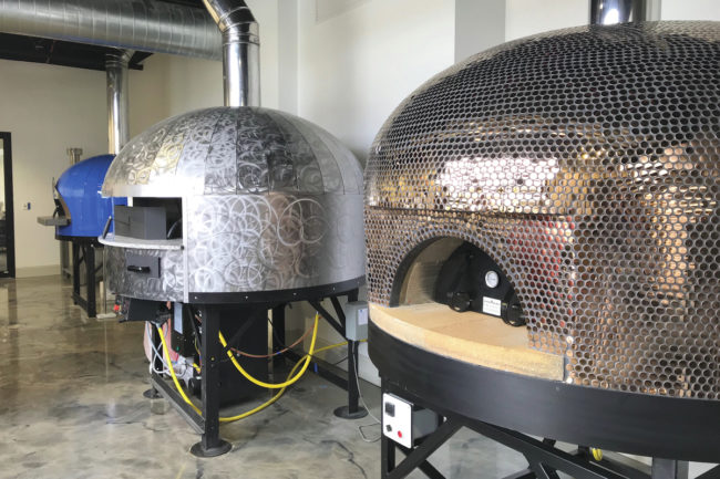 Lesaffre pizza ovens, Pizza Innovation Center
