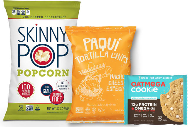 Amplify Snack Brands products, Hershey
