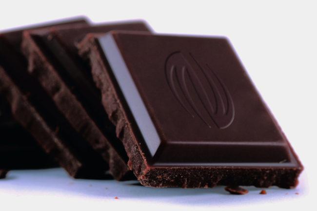 Barry Callebaut chocolate squares
