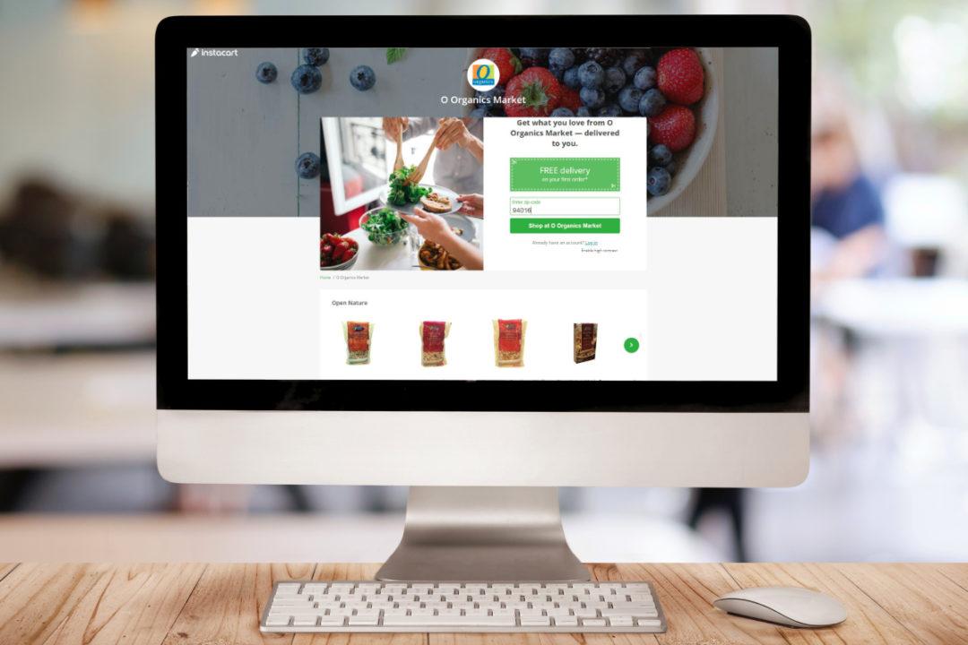 Albertsons O Organics Market
