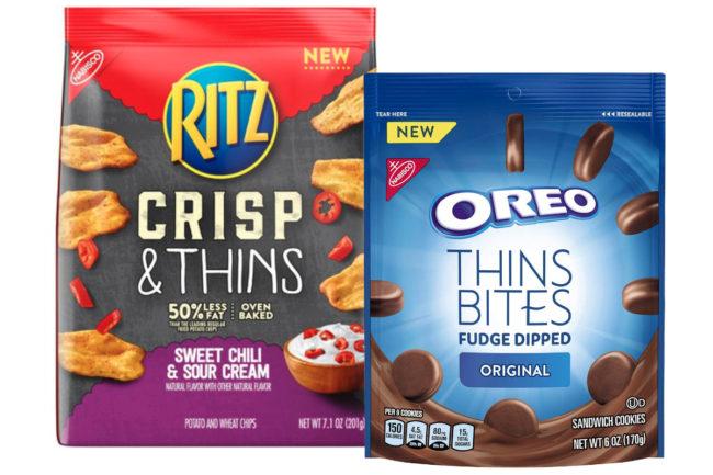Ritz Crisp & Thins and Oreo Thins Bites, Mondelez