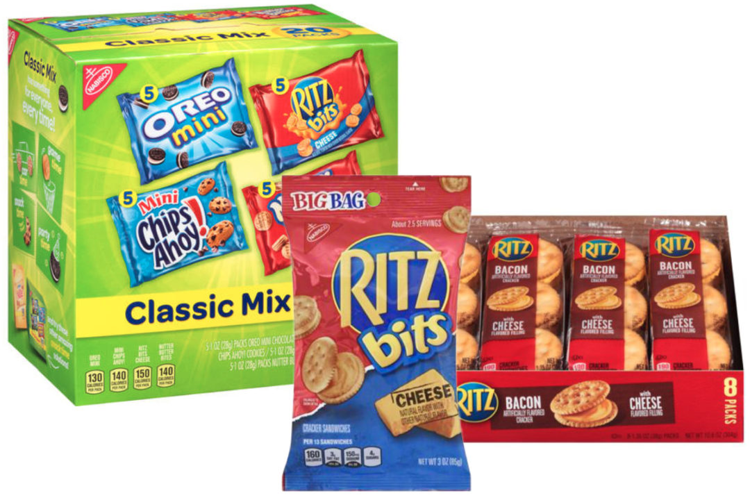 Recalled Ritz products, Mondelez