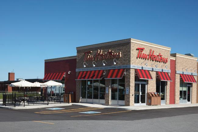 Tim Hortons restaurant