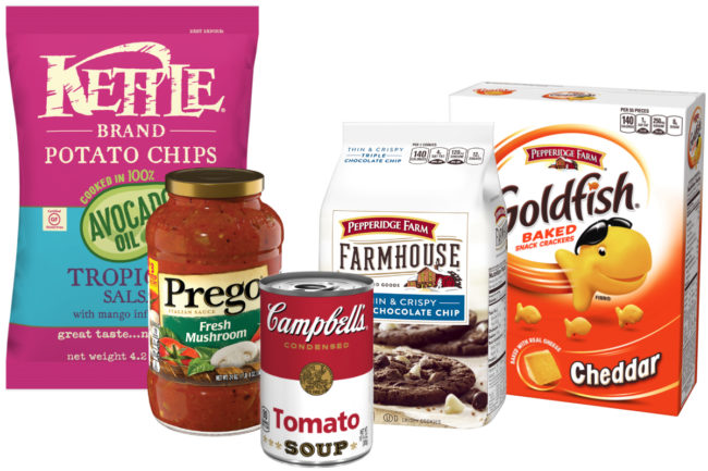 Campbell Soup products