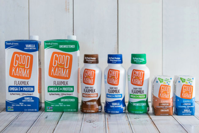 Good Karma Foods products, Dean Foods