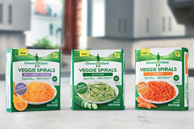 Green Giant Veggie Spirals, B&G Foods