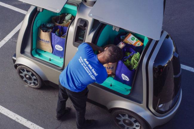 Kroger autonomous delivery