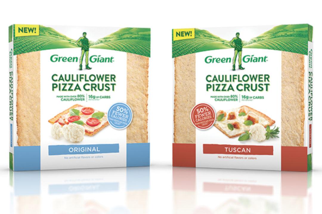 Green Giant cauliflower pizza crust, B&G Foods