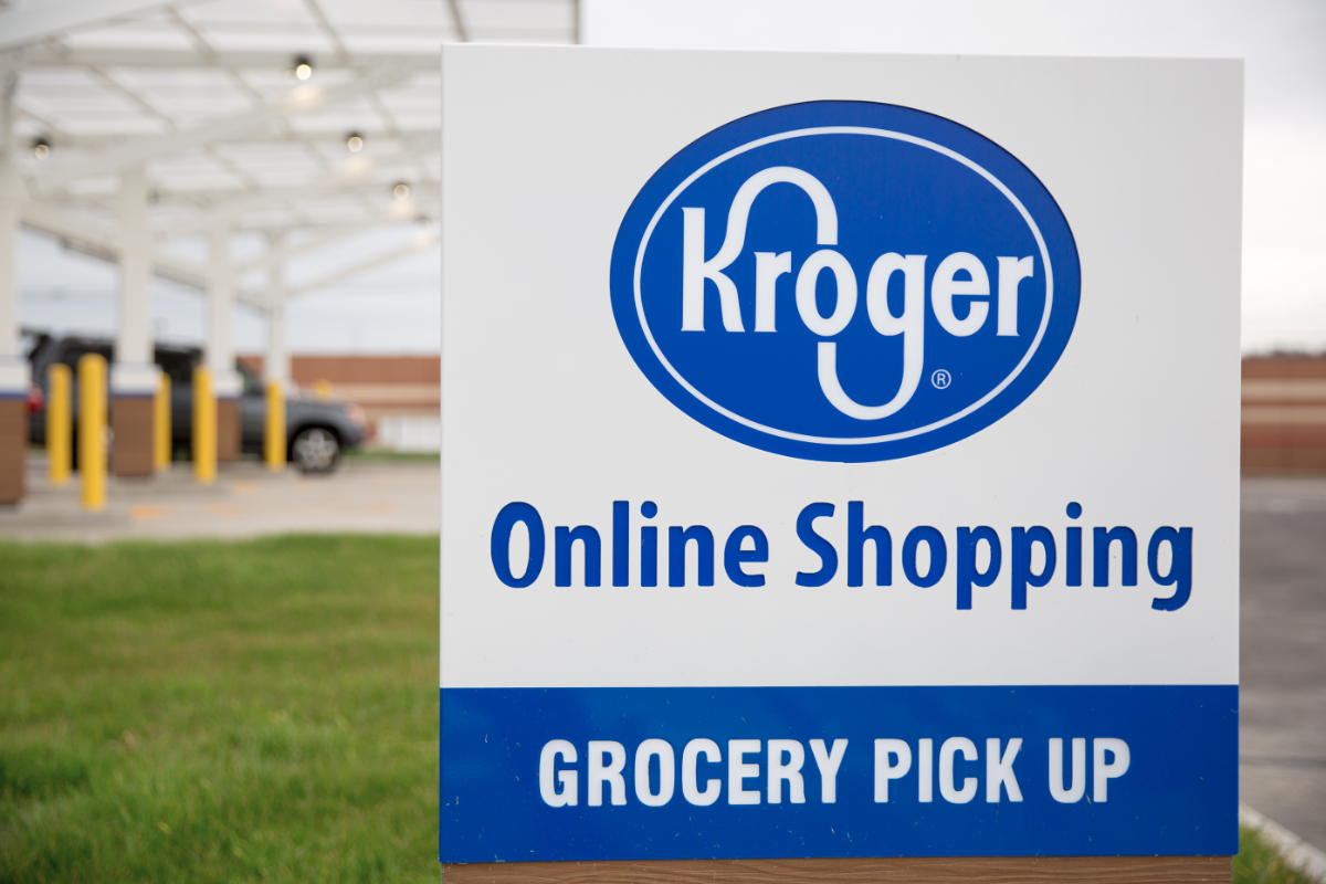 Kroger online grocery pick-up